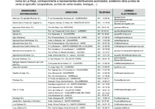BOLETÍN DE AVISOS FITOSANITARIOS Nº5